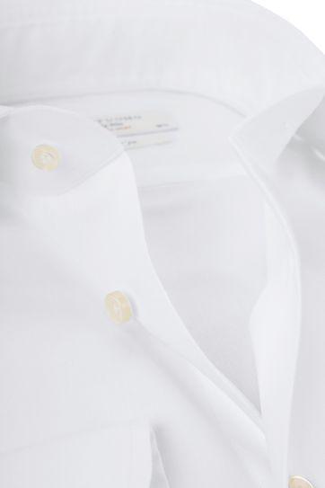Profuomo Sky Blue Travel Shirt White