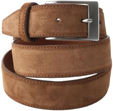 Profuomo Suede Belt Tabacco