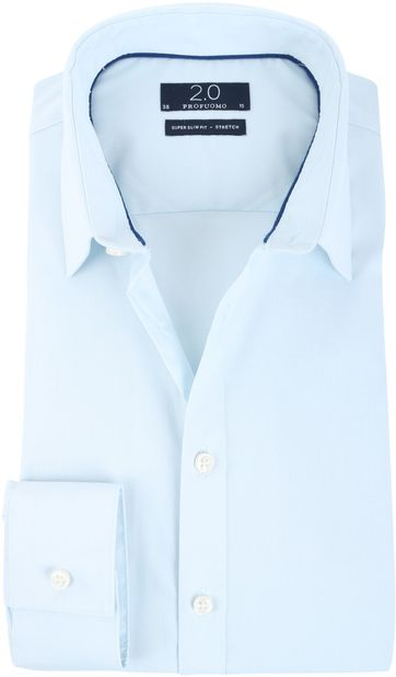 Profuomo Super Slim Fit Hemd Blau