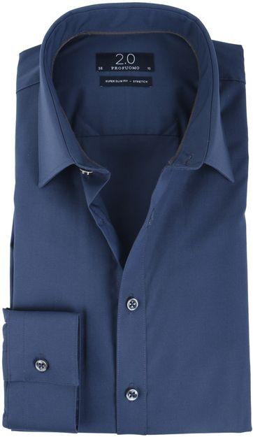 Profuomo Super Slim Fit Shirt Navy