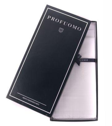 Profuomo Taschentücher Set 3 Stück Weiß