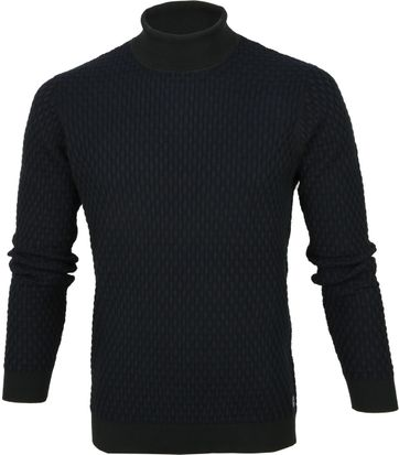 Profuomo Turtle Neck Pullover Dark Green