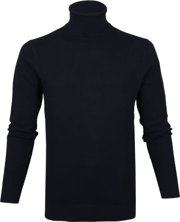 Profuomo Turtleneck Navy