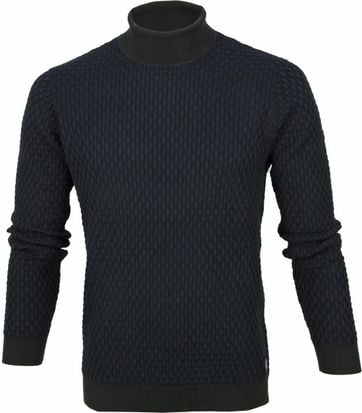 Profuomo Turtleneck Pullover Dark Green