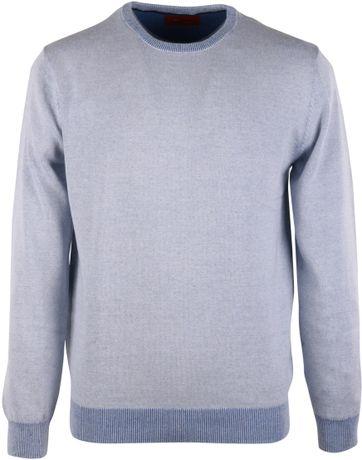 Pullover O-Neck Blue