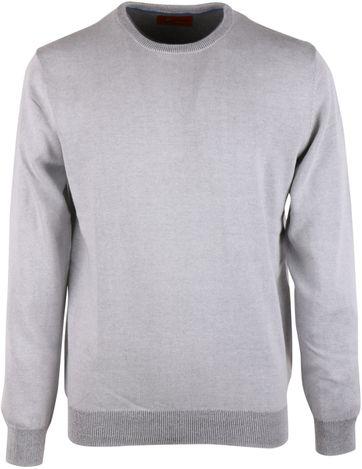 Pullover O-Neck Grey