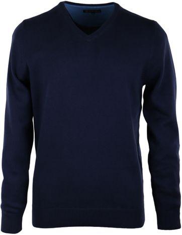 Pullover V-Hals Navy