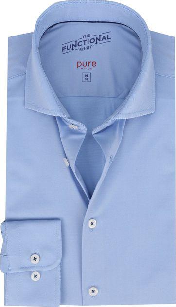 Pure Functional Hemd Lichtblauw