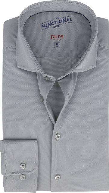 Pure Functional Overhemd Grijs