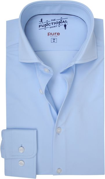 Pure H.Tico The Functional Shirt Blau