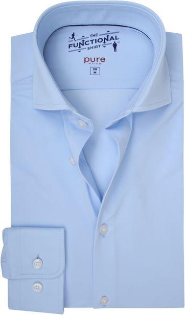 Pure H.Tico The Functional Shirt Blau