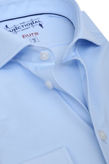 Pure H.Tico The Functional Shirt Blauw