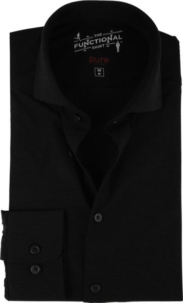 Pure H.Tico The Functional Shirt Zwart