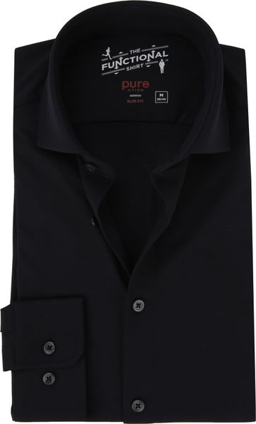 Pure The Functional Shirt Schwarz