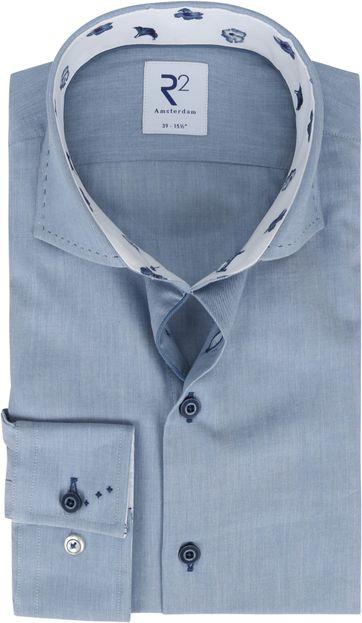 R2 Hemd Blau Einfach