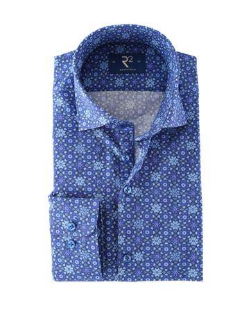 R2 Hemd Blau Schneeflocke