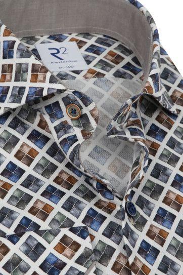 R2 Hemd Blöcke Mehrfarbigen