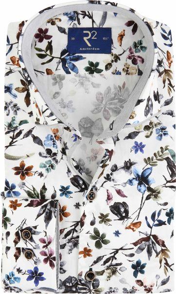 R2 Hemd Farbe Blumen