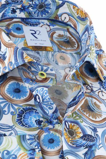 R2 Hemd Multicolour Dessin