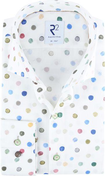 R2 Hemd Multicolour Punkte