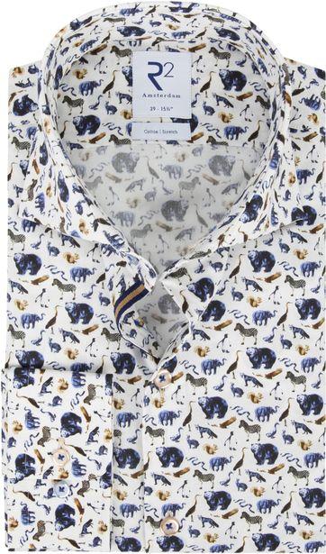 R2 Hemd Tiere Muster