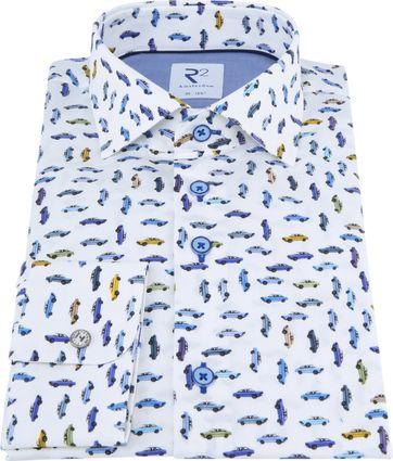 R2 Overhemd Auto's Print