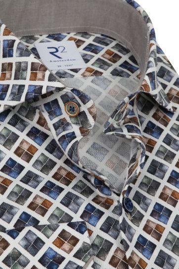 R2 Overhemd Blokken Multicolour