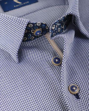 Detail R2 Overhemd Donkerblauw