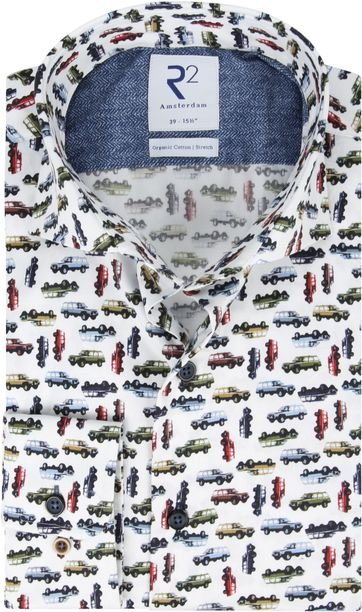 R2 Overhemd Jeep Print