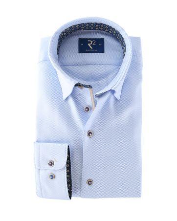 R2 Overhemd Modern Fit Blauw