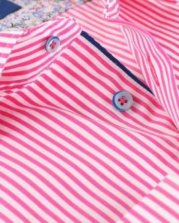 Detail R2 Overhemd Roze Streep