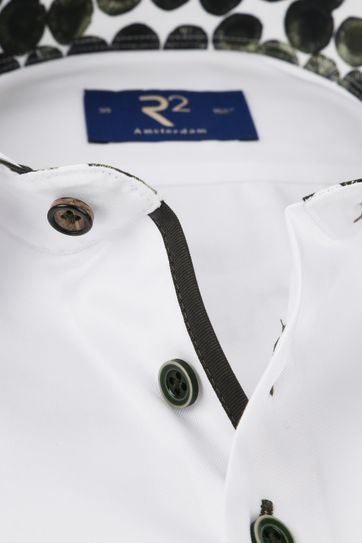 R2 Overhemd Wit Uni TF