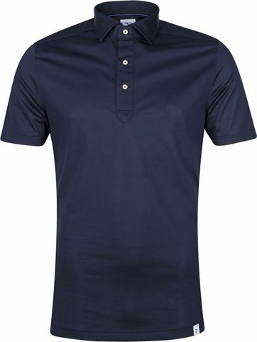 R2 Polo Shirt 112 Pique Dark Blue