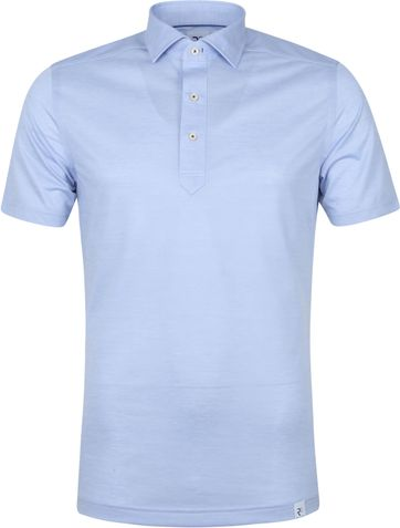 R2 Polo Shirt 112 Pique Light Blue