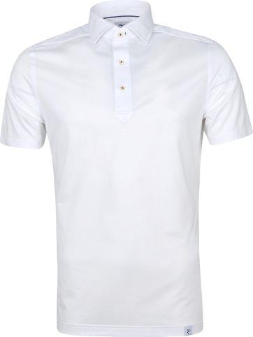 R2 Polo Shirt 112 Pique White