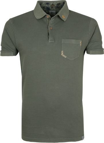 R2 Polo Shirt Dark Green