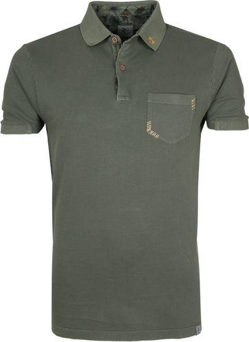 R2 Polo Shirt Dark Green