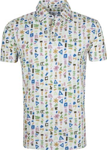 R2 Polo Shirt Multicolour Symbols