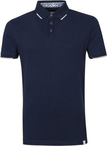 R2 Polo Shirt Pique Navy