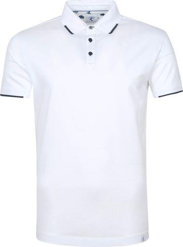 R2 Polo Shirt Pique White