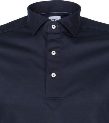 R2 Poloshirt 112 Pique Donkerblauw