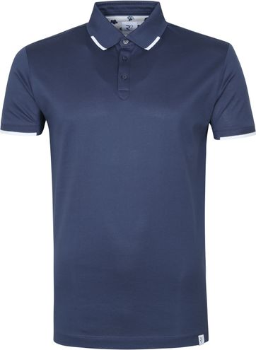 R2 Poloshirt Blauw