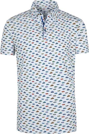 R2 Poloshirt Multicolour Rennauto