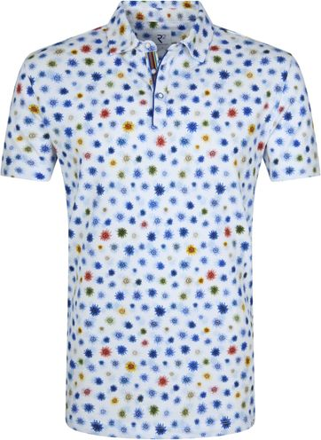 R2 Poloshirt Multicolour Sunflower