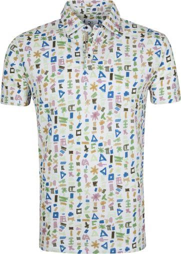 R2 Poloshirt Multicolour Symbols