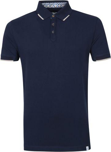 R2 Poloshirt Pique Donkerblauw