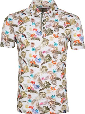 R2 Poloshirt Piquet Multicolour Jungle