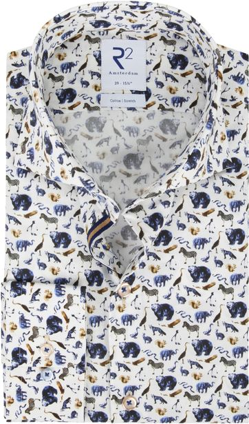 R2 Shirt Animals Print