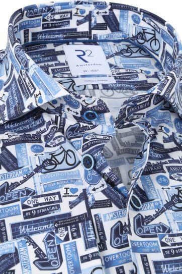 R2 Shirt Bikeprint Blue
