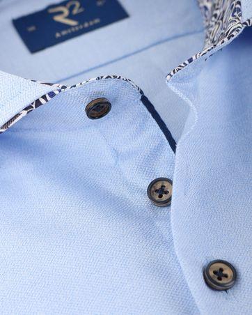 Detail R2 Shirt Blauw Cutaway
